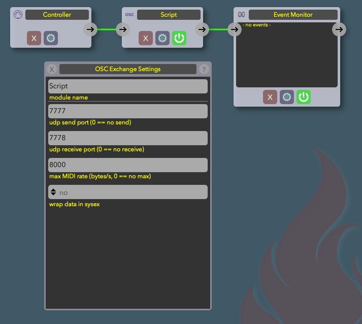 MidiFire Screenshot
